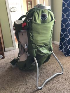 Osprey Hiking Backpack Child Carrier, Poco AG Series, EUC, retails $250, includes manual, $125. Discount for porch pick up.