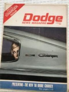 1966 Dodge Magazine. Introducing the Charger