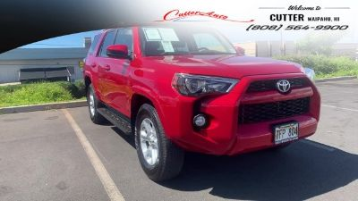 2018 Toyota 4Runner Limited (red)