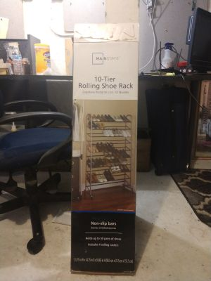 Shoe Rack - never used