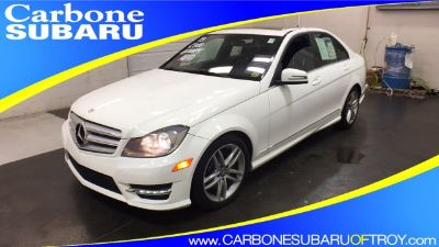 2013 Mercedes-Benz C-Class C300 4MATIC Luxury (white)