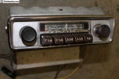AM/FM Blaupunkt Radio Wolfsburg
