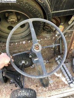 Steering Column off 1974 Bus Complete w/key