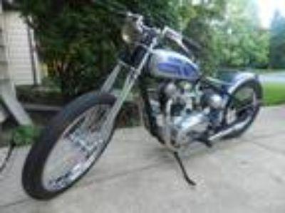 1967 Triumph Bonneville Hardtail