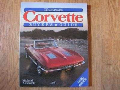 1990 ILLUSTRATED CORVETTE BUYER'S GUIDE 164-pgs LOADED w/ PHOTOS Data SPECS Xlnt Condition:Used