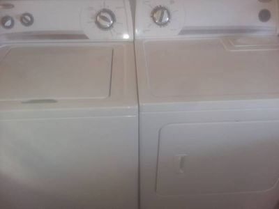 Matching Whirlpool Washer Dryer Set