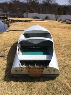 2- Feathercraft Boats for sale-1950 12' Deluxe Runabouts