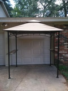 Beautiful grill canopy for sale