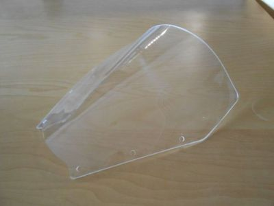 Purchase Yamaha FZ1 01 05 Airflow Racing Shield Windshield Clear MADE IN UK motorcycle in Ann Arbor, Michigan, United States, for US $29.95