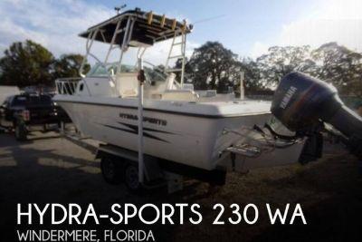 2002 Hydra Sports 230 WA