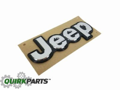 Find 15-16 JEEP RENEGADE LIFTGATE TAILGATE EMBLEM NAMEPLATE BADGE MOPAR GENUINE motorcycle in Braintree, Massachusetts, United States, for US $25.95