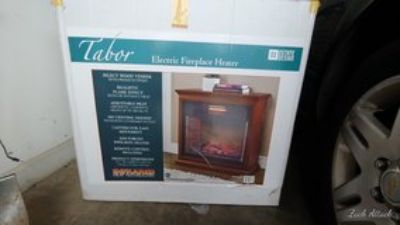 Tabor Electric Fireplace Heater