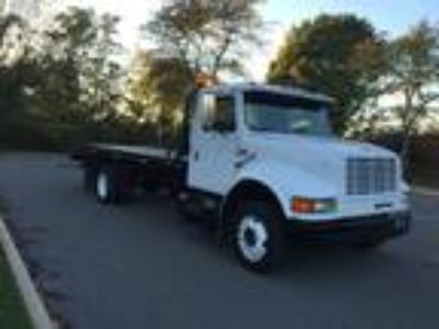 1996 International 4700 Rollback 19 Foot Champion Steel Bed Diesel Navistar