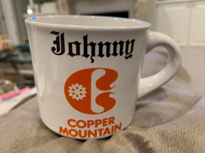 JOHNNY COPPER MOUNTAIN CUP. CP