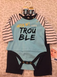 Here Comes Trouble Outfit