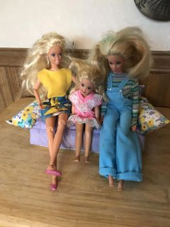 3 Dolls (couch not included)