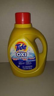 $5 each tide simply oxi 74 loads