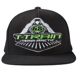 Find Arctic Cat Tucker Hibbert Apparel - Youth T-Train Flat Brim Hat Black - 5263-127 motorcycle in Sauk Centre, Minnesota, United States, for US $18.95