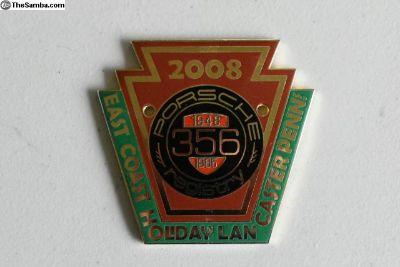 2008 Porsche Registry meeting Grille Badge