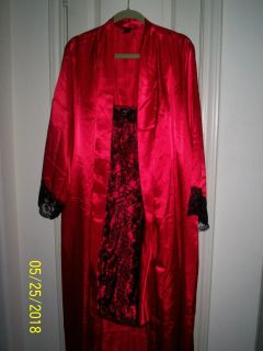 Peignoir Nightgown and Robe Set