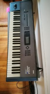 Korg N364 music workstation keyboard