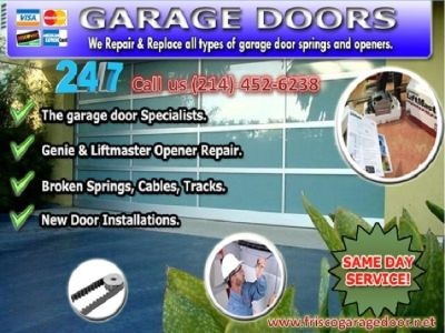 #1 Experience Garage Door Repair Technicians | Frisco 75034 TX | $25.95