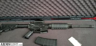 For Sale: Ar-15 with Red Dot Sight and Case