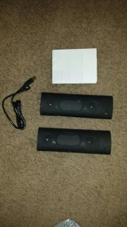 Bluetooth speakers and extra battery