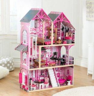 Baby house KidKraft- Bella Dollhouse Mansion Toy Furniture