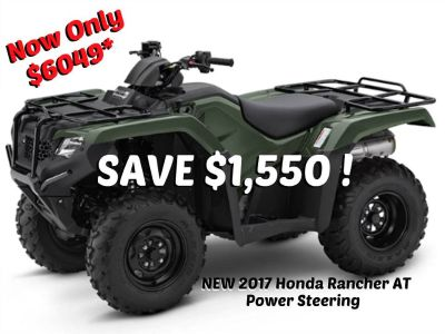 2017 Honda FourTrax Rancher 4x4 DCT EPS Utility ATVs Erie, PA