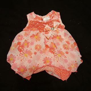 Easter Dress for 0-3 month old baby