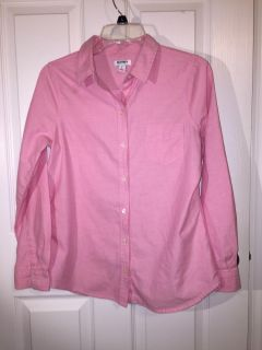 Old Navy Small pink button up EUC