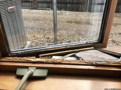 Refinishing-Weathered windows $30