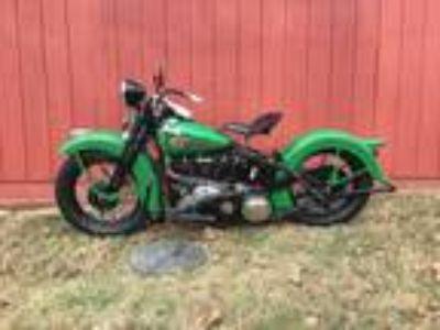 1938 Harley-Davidson Knucklehead Pre War Original
