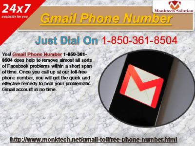 Gmail Phone Number 1-850-361-8504 a strong assistance