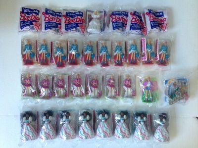 27 pieces Barbie $2 each