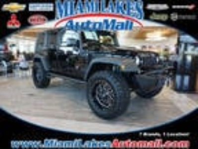 2018 Jeep Wrangler Unlimited Black, 11 miles