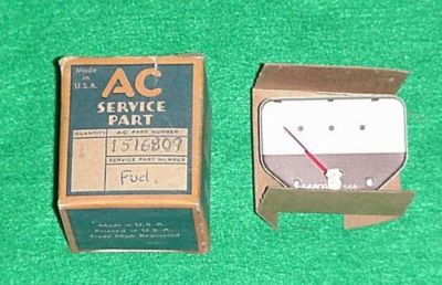 Purchase NOS 1946 46 1947 47 OLDSMOBILE OLDS GAS GASOLINE FUEL GAUGE RAT STREET ROD motorcycle in Fort Wayne, Indiana, United States, for US $44.95