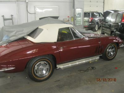 1966 CHEVY CORVETTE CONVERTIBLE