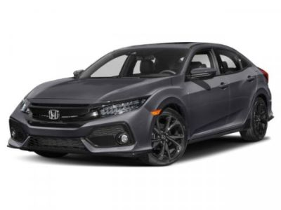 2019 Honda CIVIC HATCHBACK Sport Touring (White)