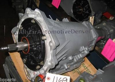Buy GM/CHEVY 4L60E REMANUFACTURED PERFORMANCE TRANSMISION (4.3/5.7L) 1997-1999 #1169 motorcycle in Denver, Colorado, US, for US $955.00