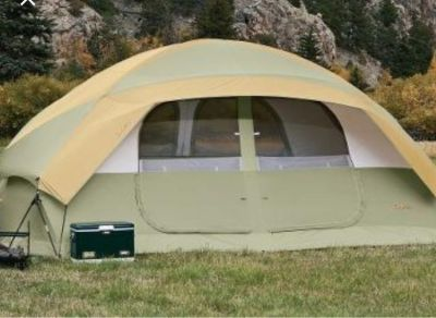 New Cabela's 9 person 2 room bunkhouse tent