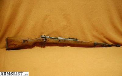 For Sale: MAUSER K98k THICK WALL SNIPER UNFINISHED