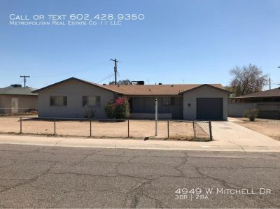 Single-family home Rental - 4949 W Mitchell Dr