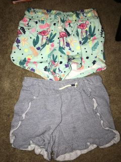 Levittown pick up. Girls cat and jack shorts 10/12 worn twice if that. $3.00 for both. Must take both.