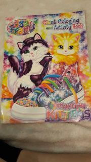 Lisa Frank play time kittens coloring book