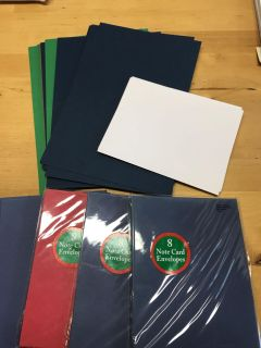 Notecards and envelopes. New.