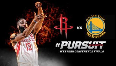 2 Rockets vs. Golden State Playoff Tickets - Game 2 - Mon. May 25