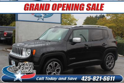 2016 Jeep Renegade Limited FWD (black)