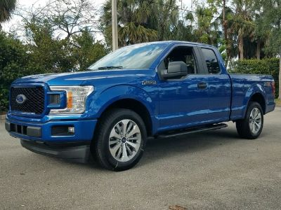 2018 Ford F-150 XL (Lightning Blue)